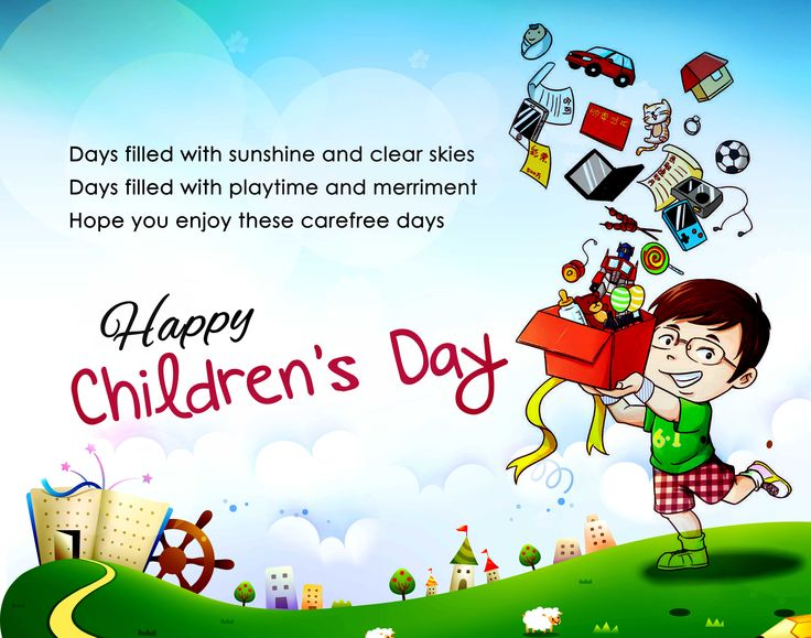 Children's Day -- a day dedicated to children -- is observed as an event across the world to celebrate childhood and promote awareness about children's welfare. Many functions are organized in schools, offices and other organizations. Most schools hold cultural performances on this day, run by the children themselves. Teachers also get involved, and may perform songs and dances for their students.