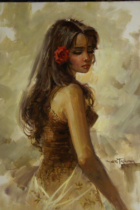 Top 25 ideas about Breath-Taking Female Paintings.... on Pinterest ...