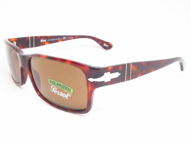 Persol PO 2803-S 24/57 Havana Polarized Sunglasses
