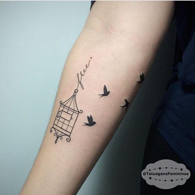 25 Melhores Ideias Sobre Tatuagens De Gaiola De P 225 Ssaro No Pinterest Tatuagens De Gaiola