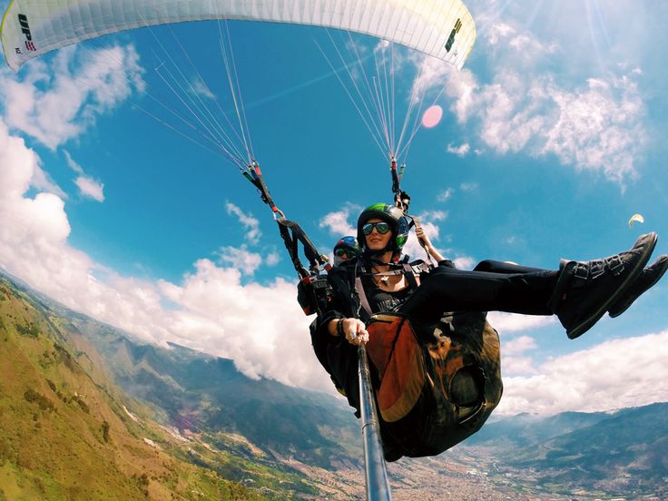 How to Spend One Week in Medellín, Colombia #paragliding