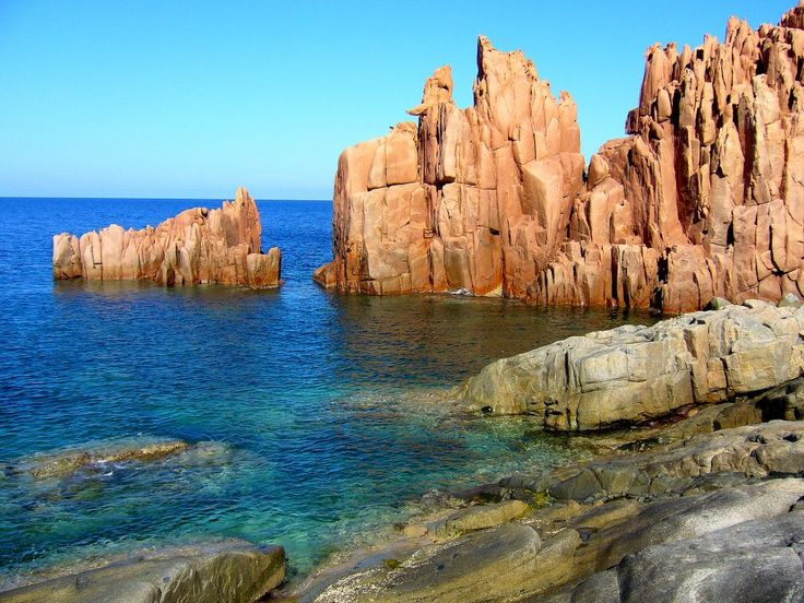 I suggest Arbatax (in Sardinia) at everybody, it's a fantastic place! I love it!
