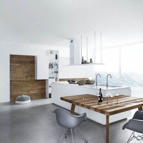 kitchen eclectic many customized options offeredby cesar furniture design used wooden material for table and grey chair furniture design modern - Kuchen Modern Design