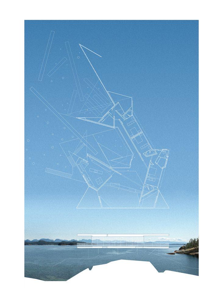 Tula House / Patkau Architects Plan & Section