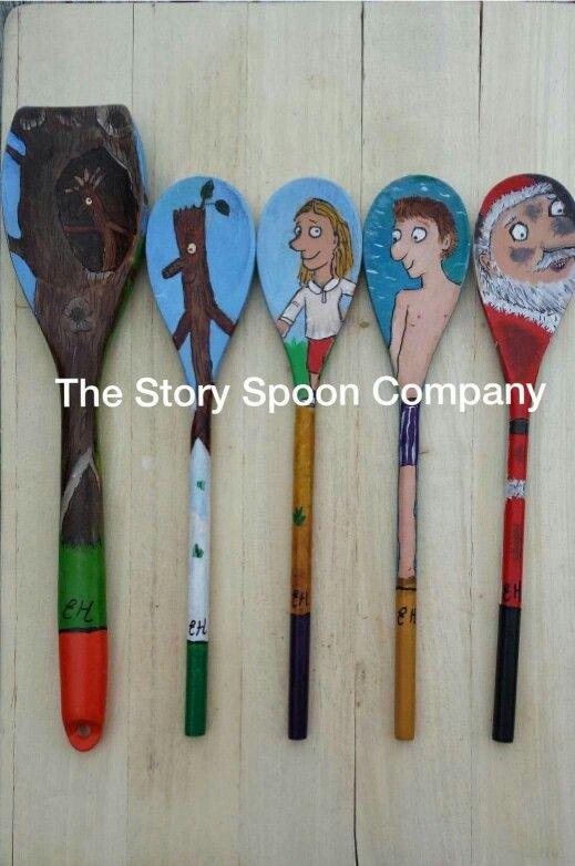 Stickman story spoons