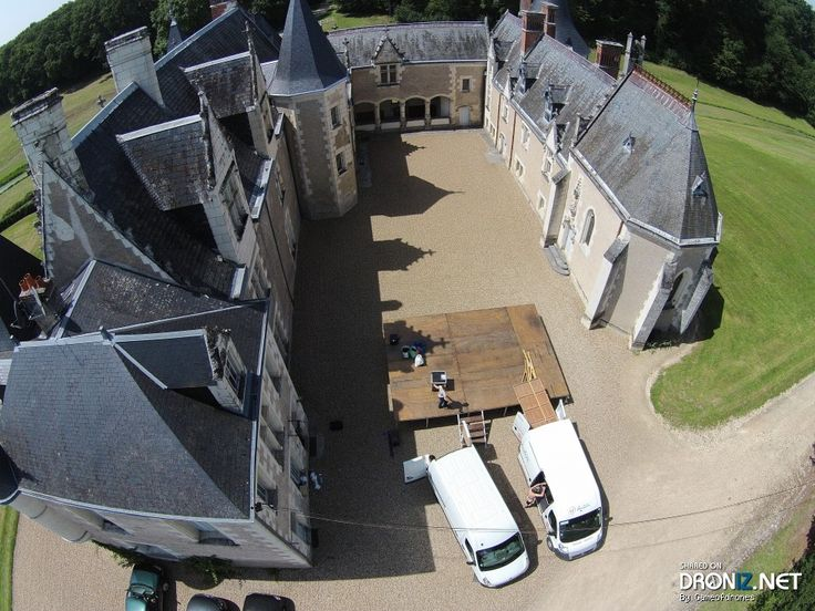 Aerial drone Photo from France by Gameofdrones : D89, 37460 Orbigny, Indre-et-Loire, France