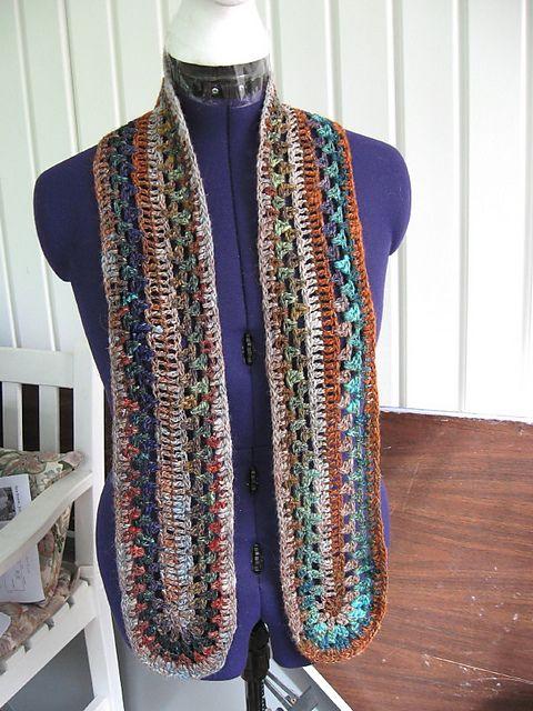 109 best Mile-a-Minute Afghan/Scarves - Crochet images on ...
