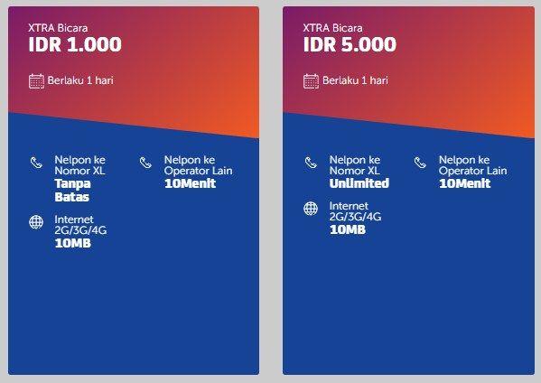 Paket Nelpon Xl Murah Ke Semua Operator Portal Uang Website Internet Uang