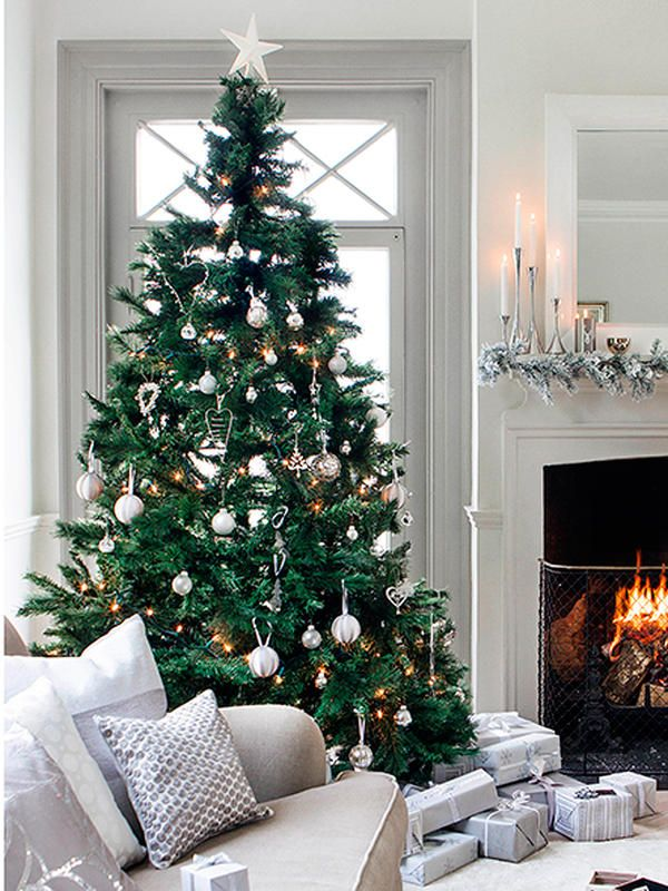 Las nuevas tendencias para decorar el rbol de navidad - Nuevas tendencias en decoracion ...