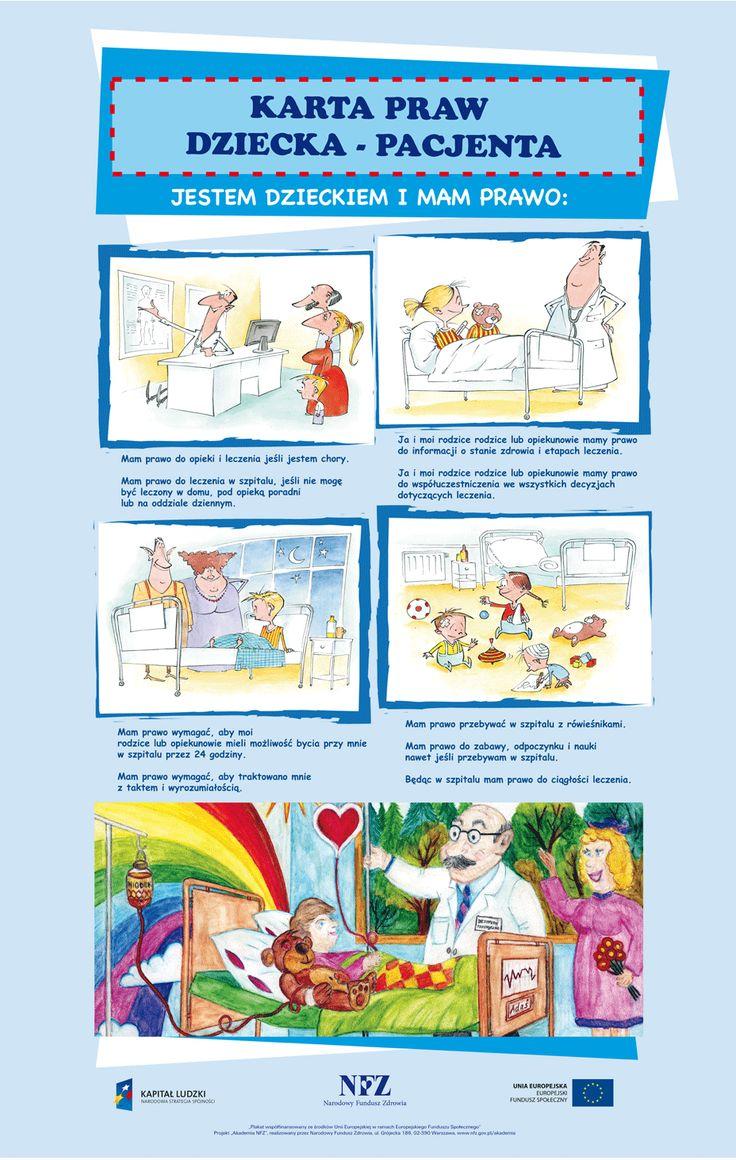 PLAKAT - karta praw małego pacjenta