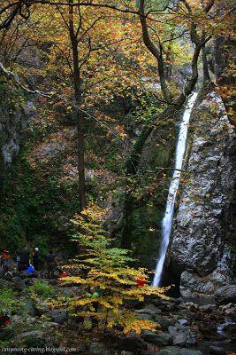 Kounoupitsas waterfall, Aridaia, Greece