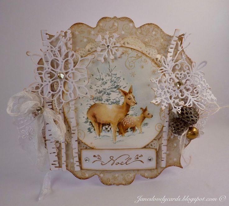 Christmas Rose Stamp Set - Jane Johnson - Stempelglede :: Design Team Blog