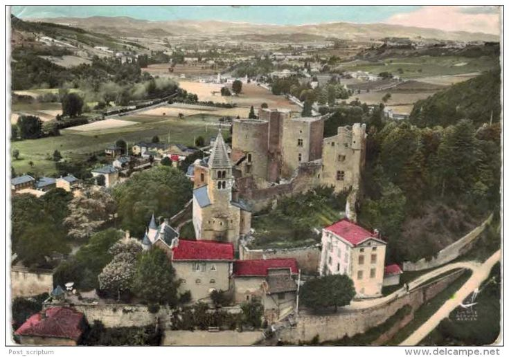 France - Chatillon d'Azergues Le château