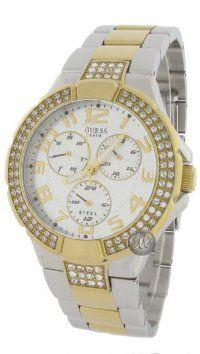 Guess Ρολόι Guess με χρυσό και ασημί μπρασελέ W16563L1