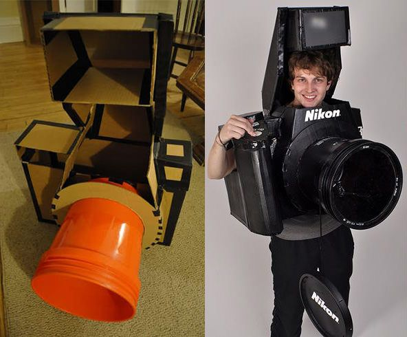 got a kid who would love to be a camera next halloween? DIY costume.