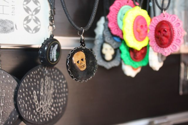 Jewelry for sale at Maropeng in the Cradle of Humankind World Heritage Site, Gauteng, South Africa.