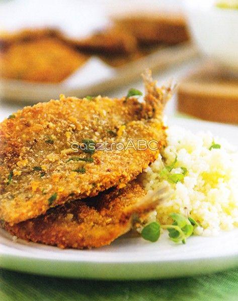 Zöldfűszeres, rántott szardínia | Receptek | gasztroABC