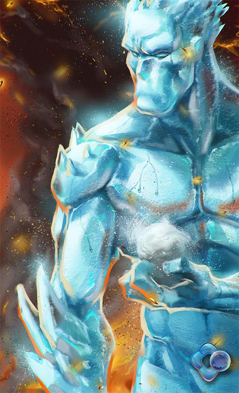 X-Men: Iceman by dr-conz