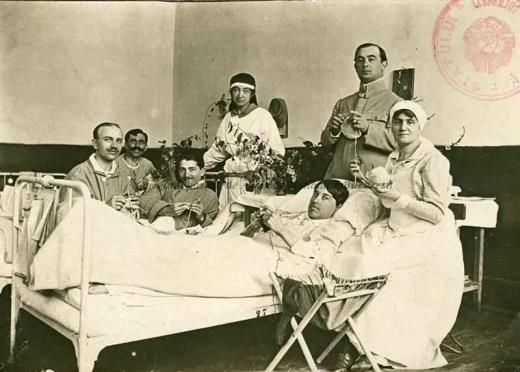 BU-F-01073-1-03351 Spitalul militar de la Buftea în timpul primului război mondial, 1916-1918 (niv.Document)
