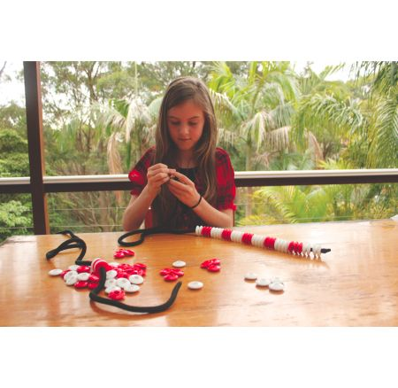Large Counting Beads Pack of 50: The perfect counting resource that will see them through kindergarten to year six. If your child responds well to learning with hands-on resources then resources like this are a must.