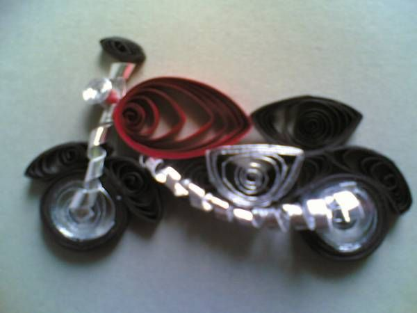 Quilling Ideas | bike - Quilled Creations Quilling Gallery