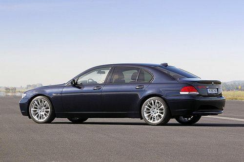 2001 BMW 750iL E65