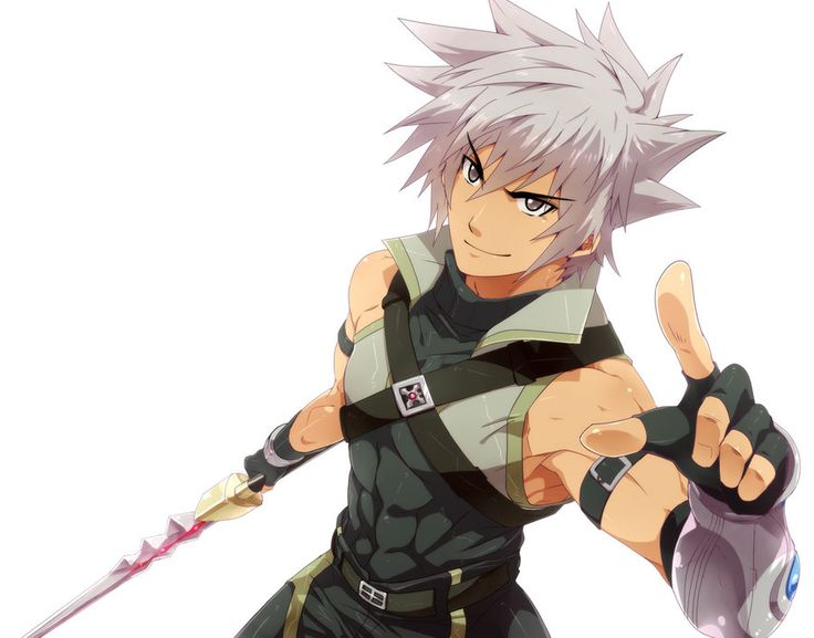Anime Guy With Spiky Hair Google Search Anime Faces