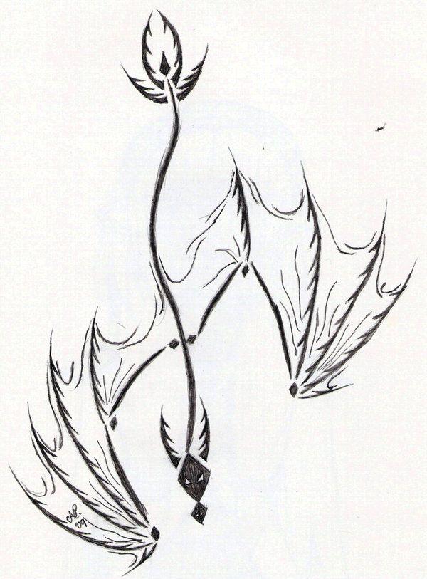 Tribal Dragon Tattoo Design by Venomwing on deviantART