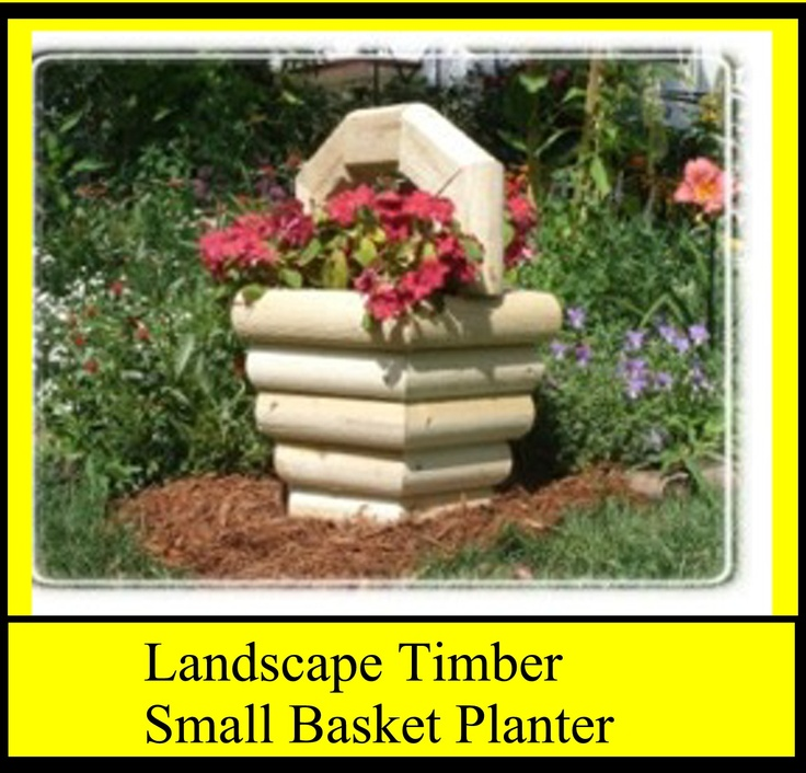Landscape Timbers Planters : Best landscape timber projects images on