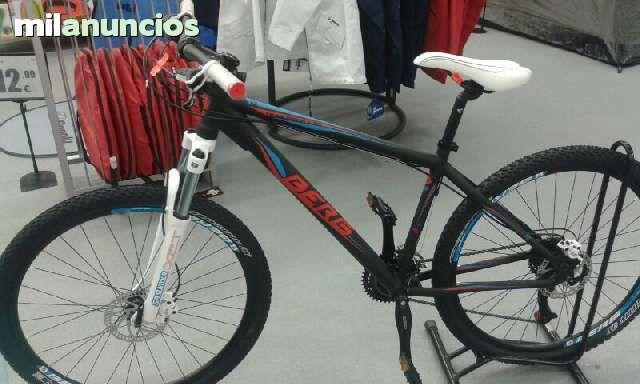 . Vendo bicicleta berg nueva. Solo usada en una salida. Ruedas de 27.5 discos de freno rn ambas ruedas. Y 24 velocidades