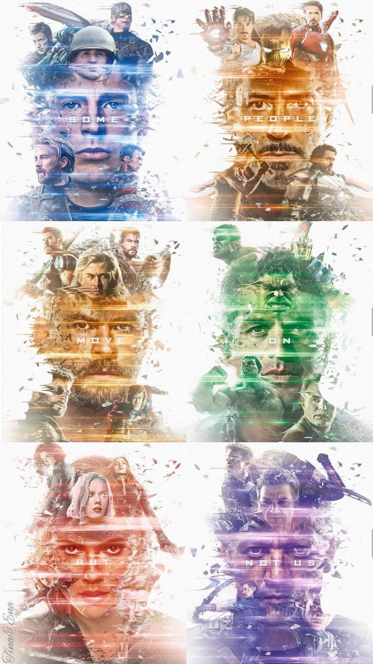 """The Avengers Endgame 💖 """"Some people move on, but not us"""" – #Avengers #Endgame…"""