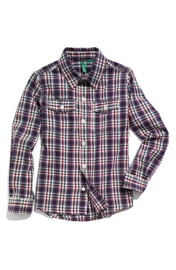 little boys western wear | United Colors of Benetton Kids Western Shirt (Little Boys) | Nordstrom