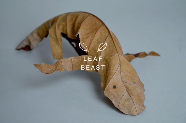 Leaf Beasts Sculptures-6 – Fubiz™