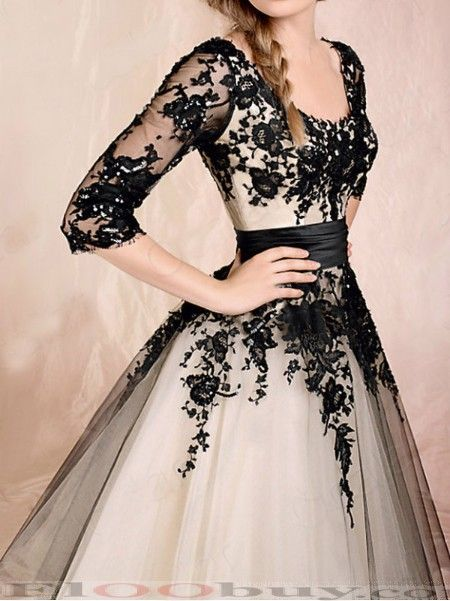 Half sleeve lace covered dress - I looove this!