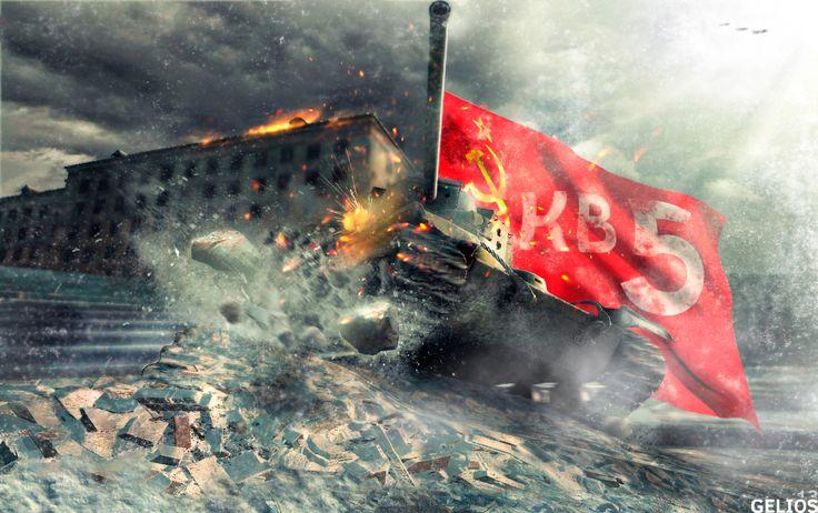 Soviet KV 5 photoshop collage
