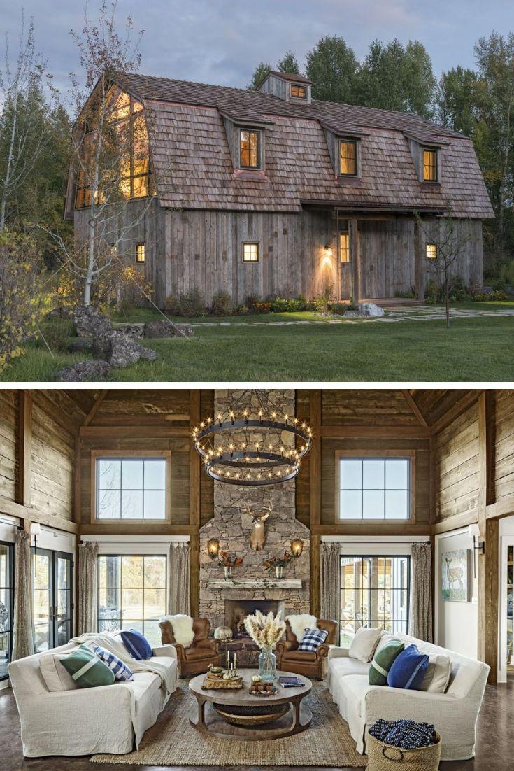 must see barn houses barn house pinterest house barn and rh pinterest com Restored Barn Homes Barn Redo