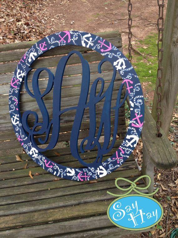 22 Best Say Hay Monograms Images On Pinterest Bedroom