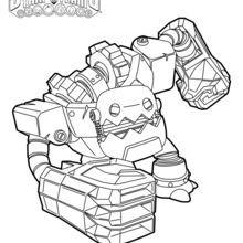 skylanders fryno coloring pages | Jawbreaker coloring page | Coloring pages, Skylanders, Color