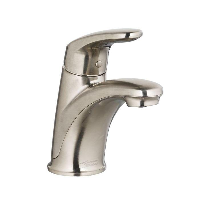 American Standard 7075.100 Colony Pro Centerset Single Handle Bathroom Faucet wi Satin Nickel Faucet Lavatory Single Handle