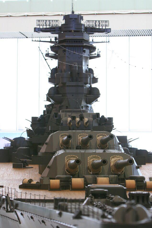IJN Battleship Yamato - 日本海軍戦艦-大和ミュージアム! #KiRi group キリ