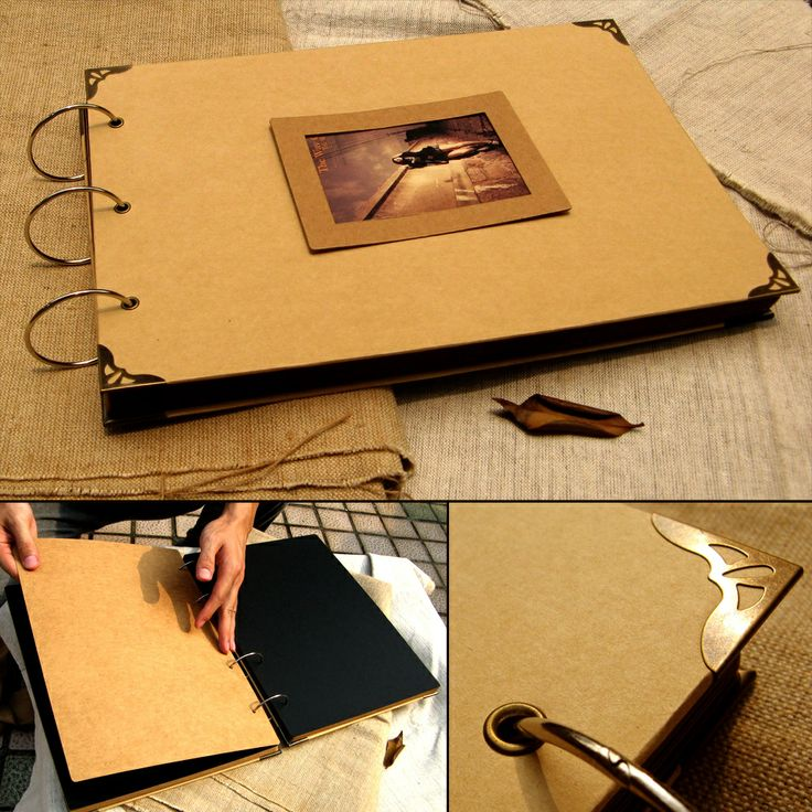 Ultralarge paste photo album cowhide paper diy photo album corner posts photo frame pvc a4-inPhoto Albums from Home & Garden on Aliexpress.c...