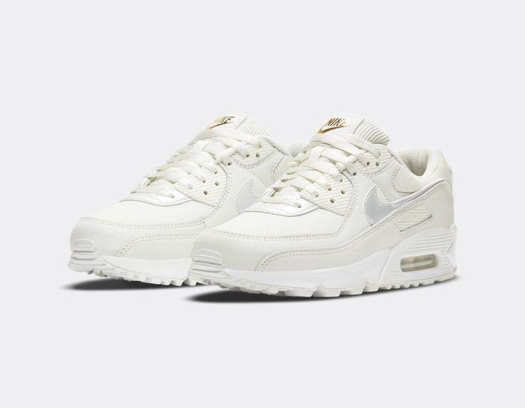 Nike W Air Max 90 Summit White - Sneakers.fr | Nike air max ...
