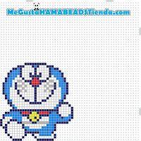 Hama Beads Doraemon v2