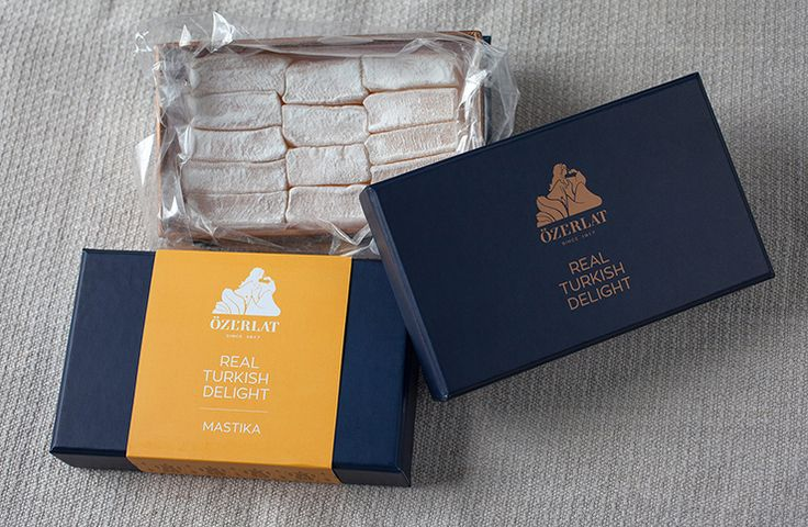 IC Design | New packaging for Ozerlat Turkish Delight