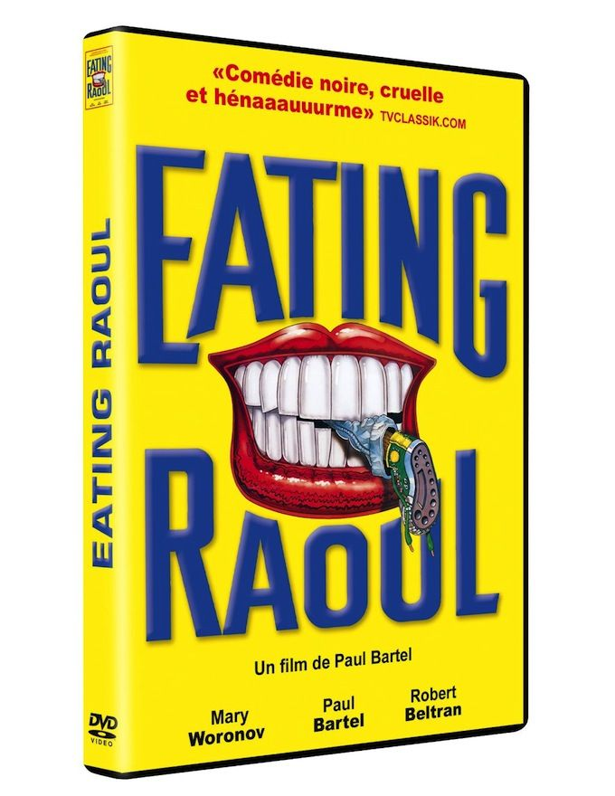 Critique + Test DVD de Eating Raoul de Paul Bartel (1982) disponible depuis le 1er septembre 2015 via Rimini Editions
