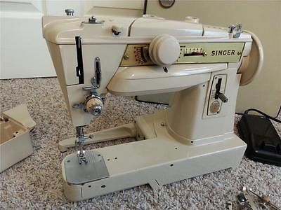 Singer Slant 40G German Made Zigzag Free Arm Sewing Machine Vintage Adorable German Sewing Machines Brands