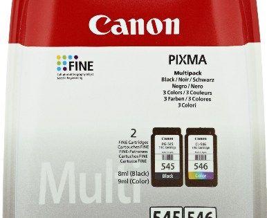 Canon – PG-545 / CL-546 – Cartouche d'Encre – Noir / Cyan / Magenta / Jaune: compatible imprimantes MG2450 & MG2550 Poids : 41 g Contenu :…