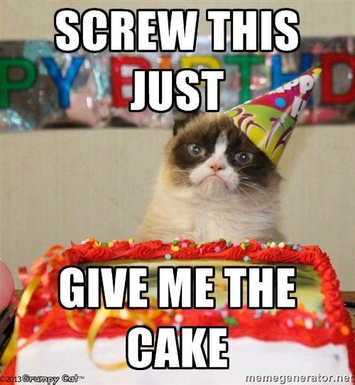 Birthday Cat Meme Generator