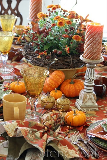 122 best thanksgiving and fall tablescapes & decor images on pinterest