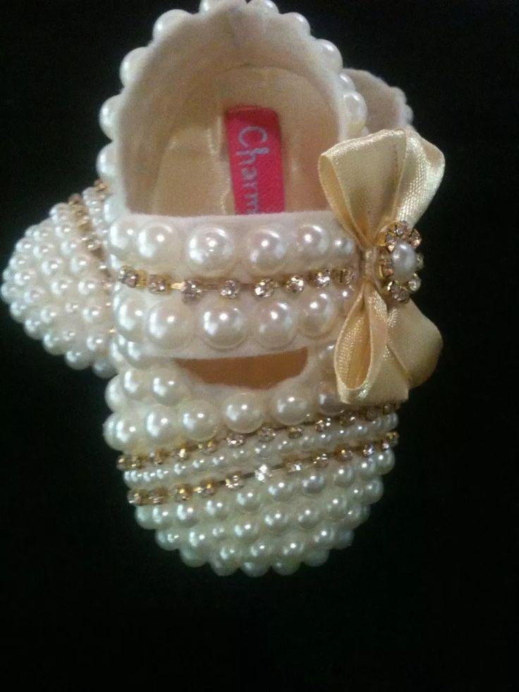 Sapatinho Para Presente Menina Customizado - R$ 49,90 em Mercado Livre